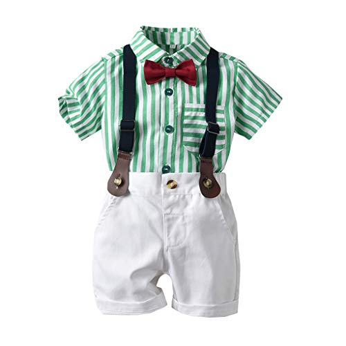 XEDUO Baby Outfits, Toddler Baby Boys Gentleman Bow