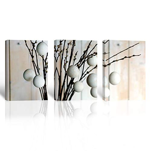 Mon Art Abstarct Art Tree Picture Giclee Canvas Prints Modern Home Decoration Wall Art 40*60cm x3(UnStretched and UnFramed)