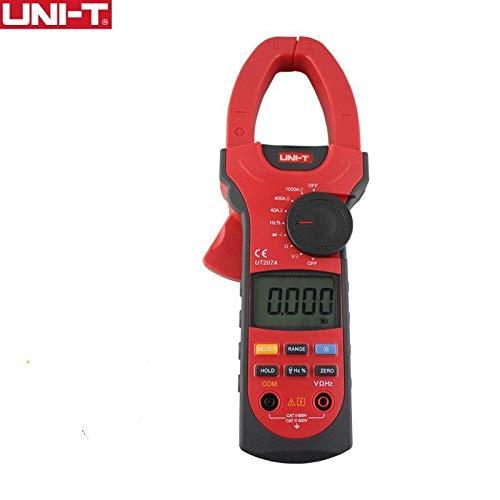 UNI-T UT207A 1000Aデジタルクランプメータ周波数メータマルチメータ   B07KF8NZST