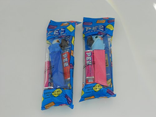 Jewel and Blu from Rio 2 Pez Dispensers in Cello Packages (Jewel From 2 Rio)