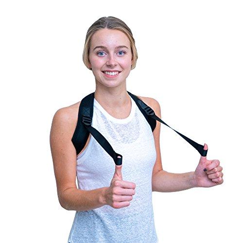 Posture Corrector for Men & Women - Comfortable and Adjustable Posture Corrector with Back Support Brace