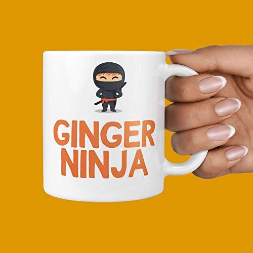 Amazon.com: Ginger Ninja Mug - Hilarious Gifts For Gingers ...