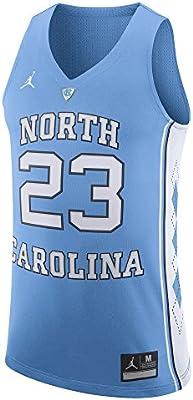 b83bba7ce3d Jordan Brand Michael Jordan North Carolina Tar Heels Blue Authentic  Basketball Jersey - Men's Medium