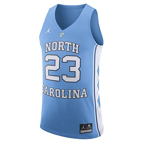 e9f67676dc87 Jordan Brand Michael Jordan North Carolina Tar Heels Light Blue Authentic Basketball  Jersey - Men s Large