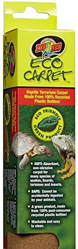 - Zoo Med Eco Carpet - 50 gal - Tan