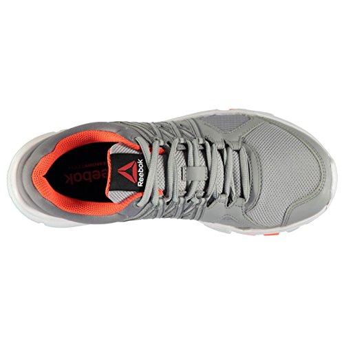Reebok Yourflex Baskets pour femme Gris/rouge Sneakers Chaussures de sport Chaussures