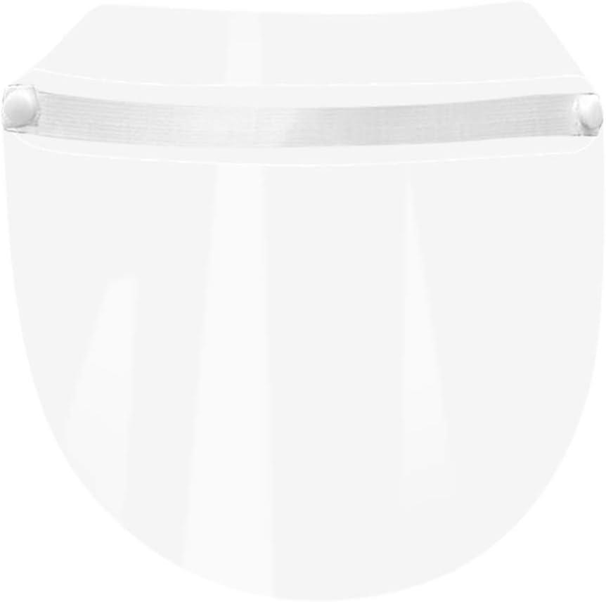 starnearby Safety Gesichtsschutzschirm,SicherheitsgesichtsschutzVollgesichtsschutz Visier Anti-Spucke Anti-Fog Anti-Spray Anti-Staub-Gesichtsschutz Visier f/ür K/üche//Camping