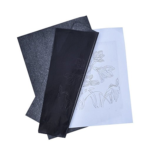 Antner 25 Sheets Graphite Tracing Paper Art Transfer Paper for Metal, Wood, Paper, Canvas,(9 x 13 Inch)