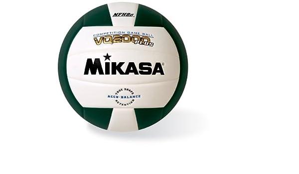 Mikasa VQ2000 - Balón de voleibol de micro fibra. - VQ2000-GRE ...