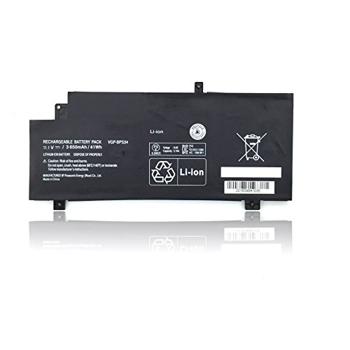 Easy Style 41WH 11.1V VGP-BPS34 Laptop Battery for Sony Vaio 15 SVF15A16CXB, SVF15A18CXB, SVF15A1, SVF14AC1QL Laptop Notebook Computers