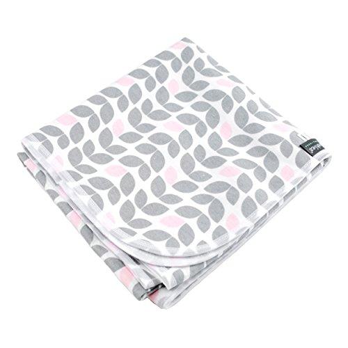 Kushies Receiving Blanket, Petal Grey