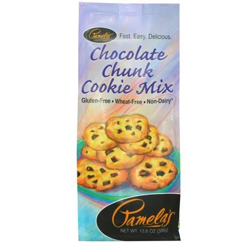 (Pamela's Choc Chunk Cookie Mix Gluten Free 24x 13.6 Oz)