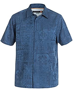 Men's Aganoa Bay 4 Shirt and HDO Travel Sunscreen (15 SPF) Spray Bundle!