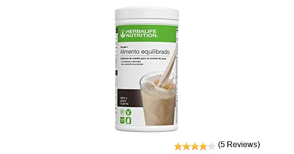 HERBALIFE Batido Formula 1 sabor COOKIES AND CREAM (GALLETA)