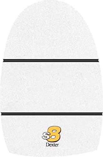 Dexter The 9 Sole Long Slide 8 White Microfiber Bowling Shoe, Brown, Small (Men's 7-8.5, Women's 9-10) Dexter Shoes Women