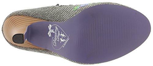 Dancing Days - Zapatos de vestir de Material Sintético para mujer Grey Tweed