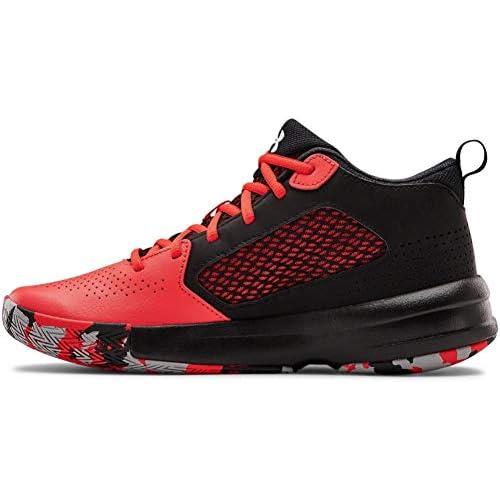 chollos oferta descuentos barato Under Armour Lockdown 5 Zapatillas de Baloncesto Unisex Adulto Versa Rojo Negro Blanco 601 42 5 EU