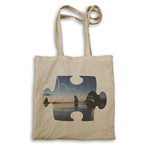 Puzzle Schönes Bild Wunderbares Bild Tragetasche e477r