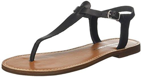Femme Bout Bax Ouvert 001 Sandales Noir Smith Windsor black waqpZZ