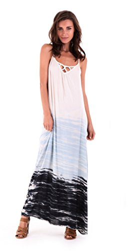 Dip Dye Maxi Dress - 4