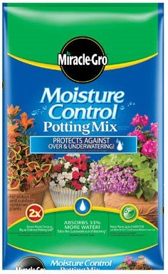 (Miracle-Gro Moisture Control Potting Mix, 2-Cubic Feet (currently ships to select Northeastern & Midwestern states) )