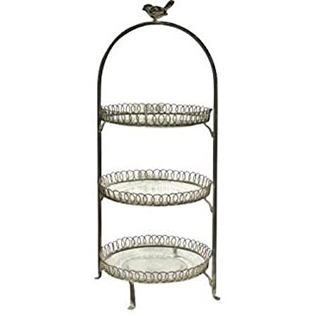 LITTLE BIRD - Three Tier Cake Plate / Afternoon Tea Stand  sc 1 st  Amazon UK & LITTLE BIRD - Three Tier Cake Plate / Afternoon Tea Stand: Amazon.co ...