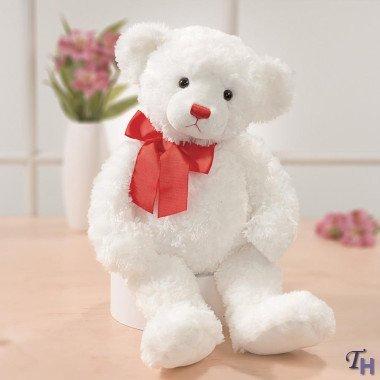 Gund Simply Love Regina White Bear, 18