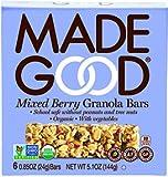 mixed made - Made Good Granola Bar Mixed Berry, 24 gram, (Pack of 6)