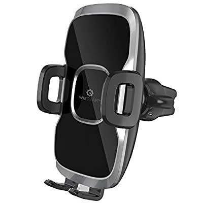 Phone Holder for Car, WizGear Car Phone Mount Air Vent Cell Phone Holder for Car, Air Vent Phone Holder for Car with Twist Lock Base Compatible with iPhone Xs/XS Max / 8/7 / 6, Galaxy S and More