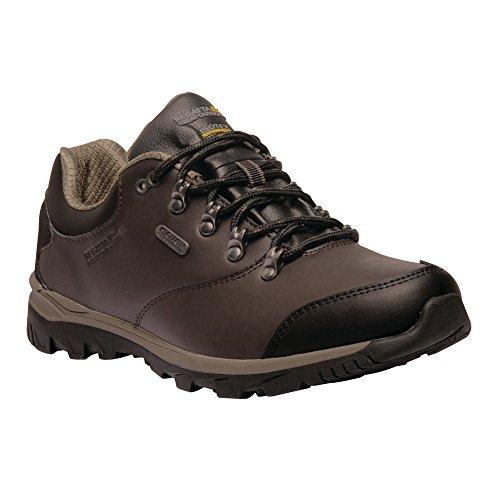 Regatta Kota Leather Low, Stivali da Escursionismo Uomo Brown (Peat/Treetop 1g7)