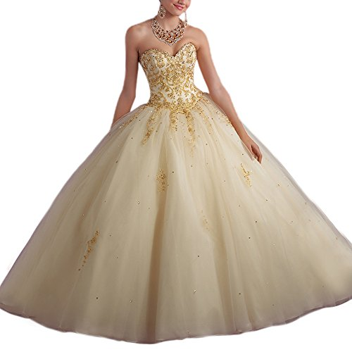 Womens Bead Sweet Quinceanera Dresses product image