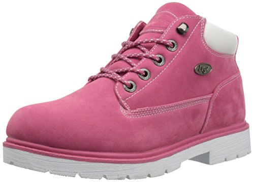 Lugz Womens Drifter Lx Fashion Laars Raspberry / Wit