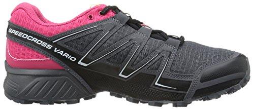 Salomon Speedcross Vario Damessleep Hardloopschoenen Black / Hot Pink / Dark Cloud