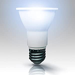 Xlight.ca PAR20 Led Light Bulbs, 50W Equivalent, Dimmable Led Bulb, Energy Star, UL-Listed, Pack of 6 (Daylight 5000K)