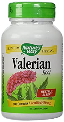 Nature's Way Valerian Root, 530 mg, 100 Capsules,