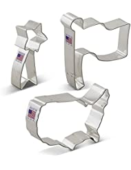 Ann Clark Independence Day Patriotic Cookie Cutter Set