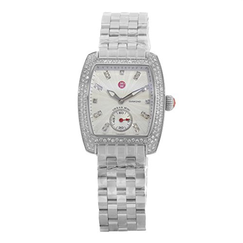 Mini Watch Diamond Urban (Michele Mini Urban Silver Diamond Sial Ladies Watch MWW02A000508)