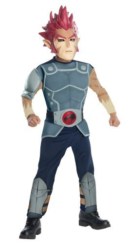 Lion O Deluxe Costume (ThunderCats Animated Lion-O Deluxe Muscle Chest Costume by Rubie's)