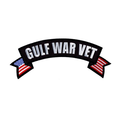 Hot Leathers Gulf War Vet Banner Patch (4