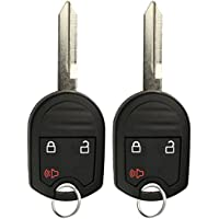 KeylessOption Keyless Entry Remote Control Car Key Fob Replacement for CWTWB1U793 (Pack of 2)