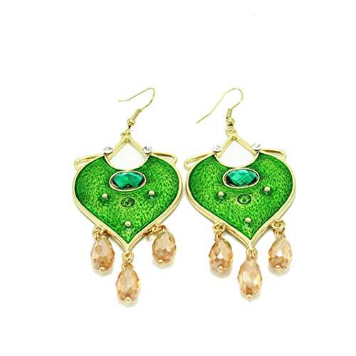 Crystal Principessa - New India Earrings Cosplay aladdin Principessa Jasmine Earrings