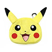 HORI Universal Pikachu Plush Pouch for New Nintendo 3DS XL Officially Licensed by Nintendo and Pokemon