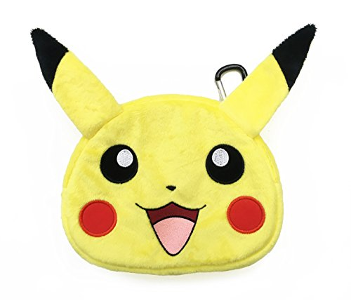 HORI Universal Pikachu Plush Pouch for New Nintendo 3DS XL