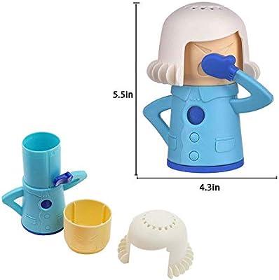 BESLIME Angry Mama Limpiador de Microondas-Limpiador de vapor de ...