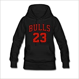 Custom Chicago Bulls Michael Jordan  23 For Women Classic Sweatshirt Hoodie  Black L Misc. 09d7c9c01c