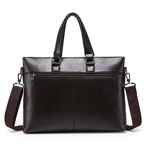 Briefcase Brown Shoulder Business Bag Cross Handbag Men's Section brown x4qYc8