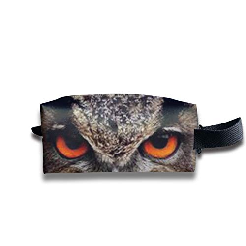 Small Toiletry Bag Owl Eyes,Pencil Case,Travel Essentials Bag,Dopp