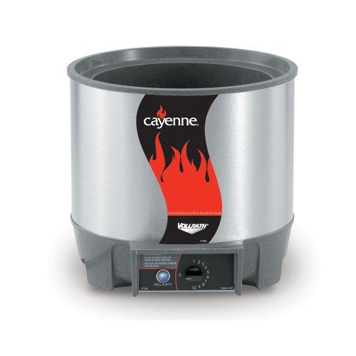 Vollrath (72017) Cayenne 7 qt. Round Heat 'N Serve Food - Warmer Quart 7 Soup