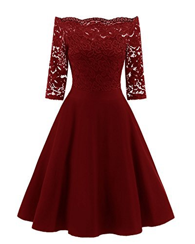 EvoLand Semi Formal Dresses For Women Party Evening Wedding Guest Dresses