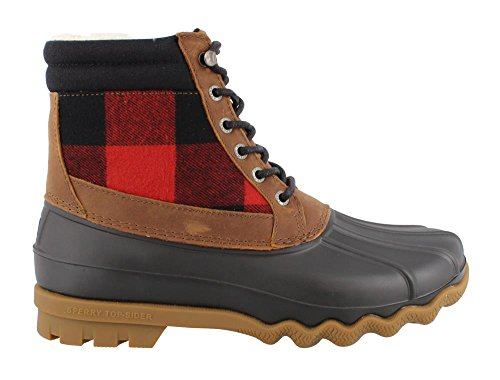 Sider Top Men's Boot Brewster Lumberjack Rain Tan Sperry 74vqRR